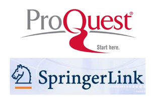 ProQuest SrpingerLink