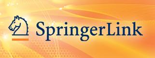 Springer eBooks y SpringerLink : Seminarios en línea