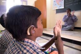 Proyecto de acceso a la educación para niños y niñas con discapacidad