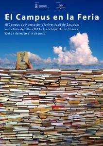El Campus en la Feria del Libro de Huesca 2013