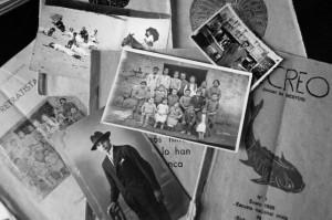 Folletos y fotos sobre Antoni Benaige