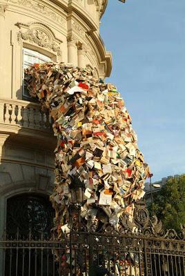 Libros por la ventana
