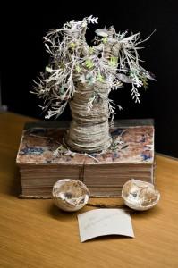 Objetos con libros: árbol