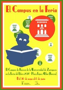 El Campus en la Feria del Libro de Huesca 2014
