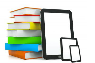 libros y libros electrónicos (imagen de IBiblio de Libranda)