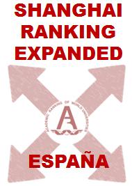 ESPAÑA – Shanghai Ranking Expanded España 2014 ed.