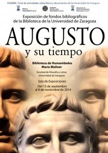 """Exposición """"Augusto y su Tiempo"""" en la Biblioteca María Moliner"""