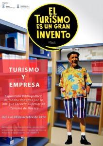 Turismo y Empresa : Exposición bibliográfica