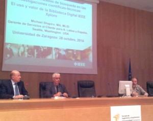 Sesión informativa IEEE Xplore, BUZ 2014