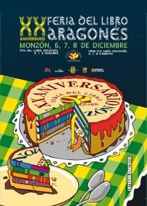 XX Feria del Libro Aragonés. Monzón (Huesca) 2014.