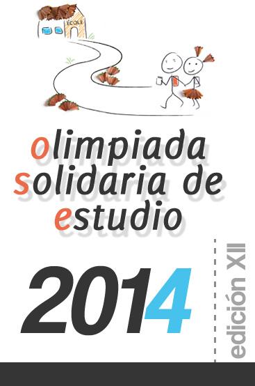 Olimpiada Solidaria de Estudio 2014