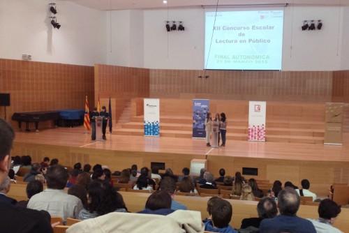 XII Concurso Escolar de lectura pública (Foto: Heraldo de Aragón)