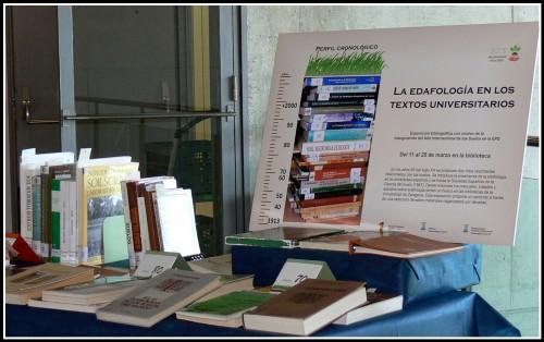 Exposición La Edafología en los textos universitarios: Perfil cronológico
