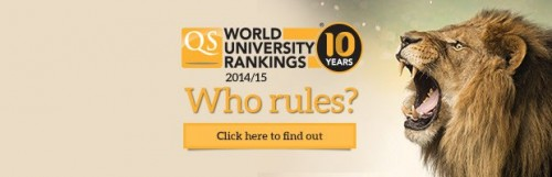 qs world univerity rankings