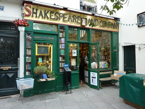 Fachada de Shakespeare and Company