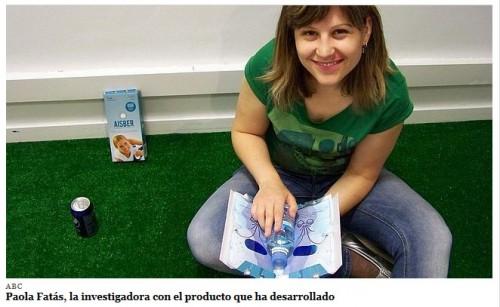 Paola Fatás, investigadora de la UZ (foto ABC)