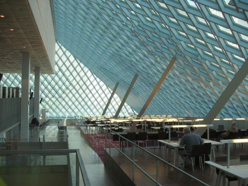 Seattle Public Library – Silent room