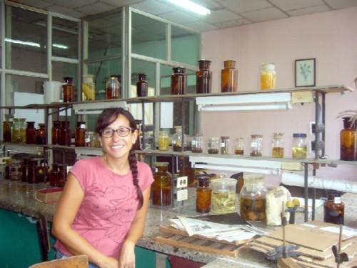 Eva Sáiz, Beca de Cooperación en la Universidad Agraria de la Habana (UNAH)