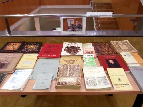 Homenaje a Guillermo Redondo Veintemillas. Exposición en la Biblioteca María Moliner