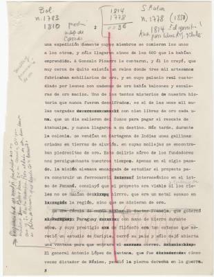 Digitalización del discurso de recepción del premio Nobel de García Márquez