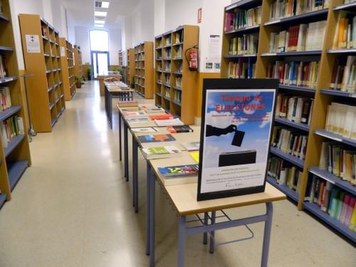 Exposición en la Biblioteca de la Facultad de Empresa y Gestión Pública : Tiempo de elecciones. Democracia, sufragio y cuestiones electorales en los fondos de la Biblioteca de la Universidad de Zaragoza