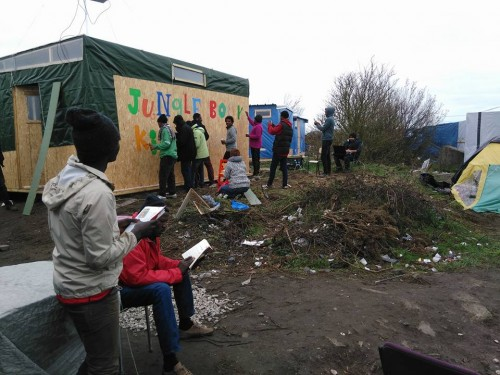Bibliotecas de refugiados