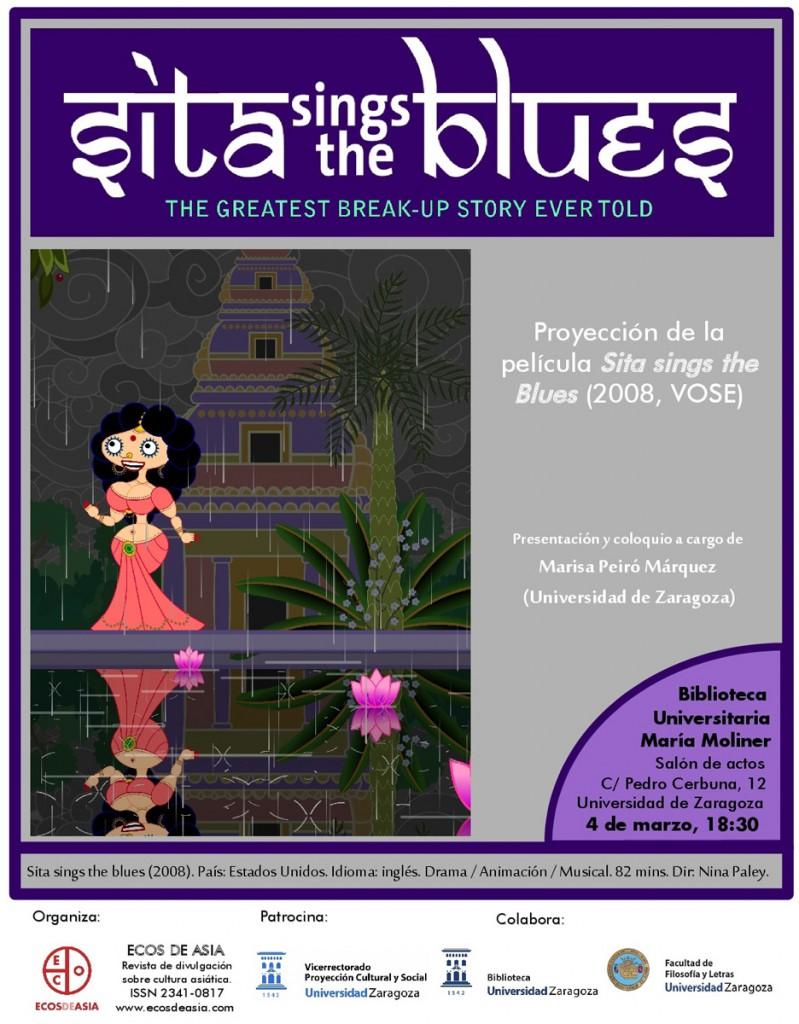proyección de la película Sita sings the blues (2008), de la realizadora norteamericana Nina Paley