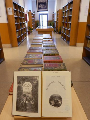 JULIO VERNE Y HETZEL : LA COLECCIÓN ESPAÑOLA. Exposición bibliográfica en la Biblioteca de la Facultad de Empresa y Gestión Pública