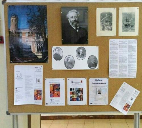 Otros hablan de Julio Verne. Exposición en la Facultad de Ciencias de la Salud y del Deporte
