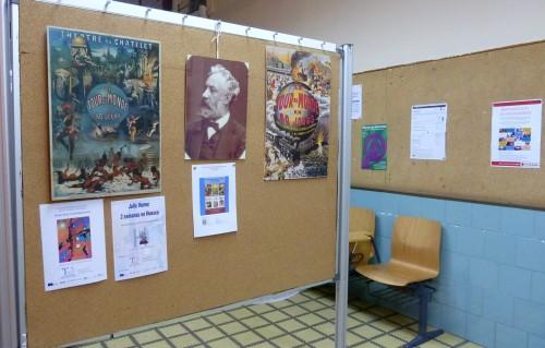 El inagotable universo lector de Julio Verne. Exposición bibliográfica en la Facultad de Ciencias Humanas y de la Educación