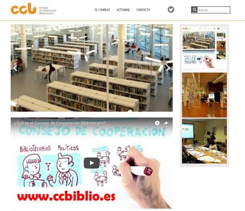 Nueva web del CCB : www.ccbiblio.es