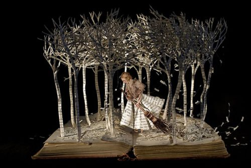 Su Blackwell : Chica en el bosque