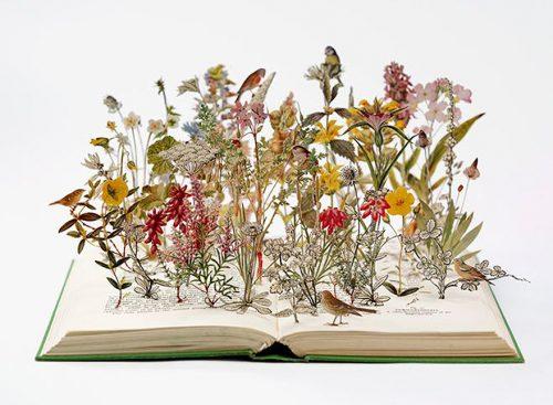 Su Blackwell : Con flores