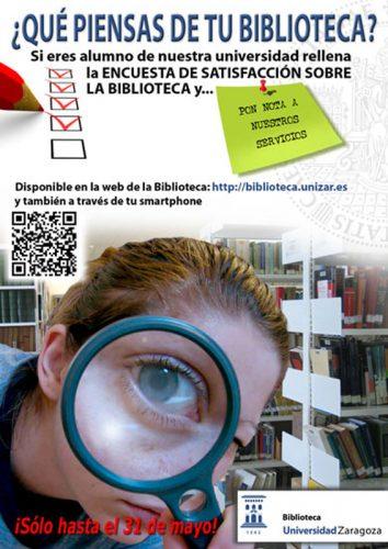 Encuesta de satisfacción de la Biblioteca (estudiantes) 2016