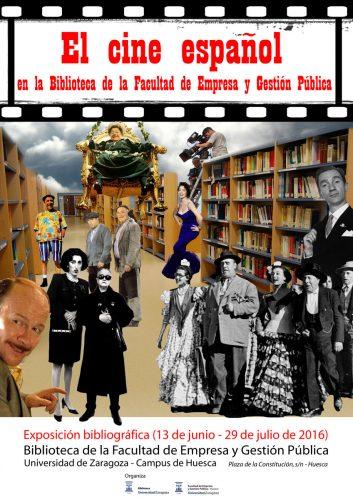 El Cine Español en la Biblioteca de la Facultad de Empresa y Gestión Pública (Huesca)