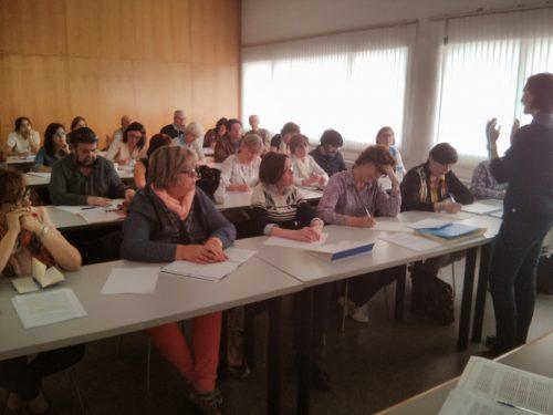 Asistentes al seminario-taller Ética y responsabilidad social en las bibliotecas universitarias
