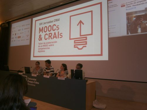 Jornadas CRAI 2016: taller de elaboración de un MOOC sobre competencias digitales