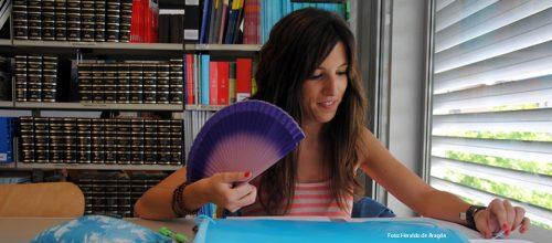 Bibliotecas de la U.Z. en verano (foto: Heraldo de Aragón)