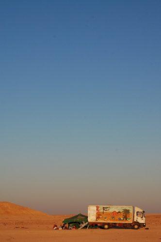 Bubisher en el desierto