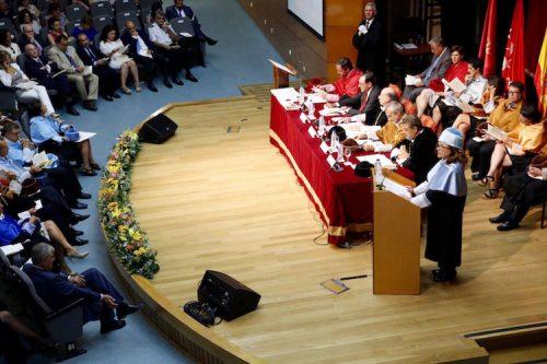 acto de investidura de Aurora Egido Martínez, como Doctora Honoris Causa de la Universidad Carlos III de Madrid (Foto: RAE)