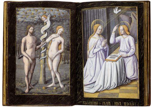 Libro de horas de Enrique IV de Francia y III de Navarra - exposición Tesoros bibliográficos (s. X – XVI): El arte y el genio al servicio del poder