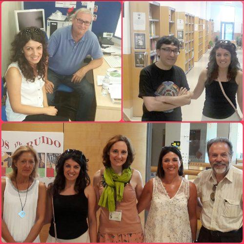 Visita a la BUZ de Yazgi Cihangir, Directora de la Biblioteca de la Istanbul Kemerburgaz University (Turquía)