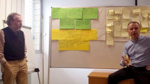 """""""Visión 2020"""". Sesión de trabajo para la elaboración del próximo Plan estratégico 2017-2020 de la Biblioteca de la Universidad de Zaragoza."""