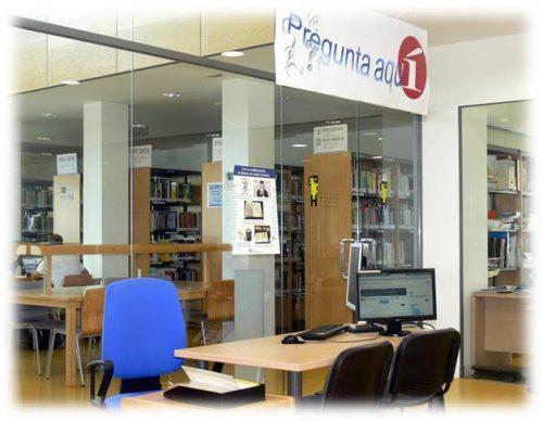 espacio Pregunta Aquí en la Biblioteca de la EPS