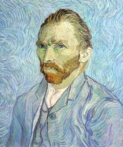 Autorretrato. Vincent Van Gogh.