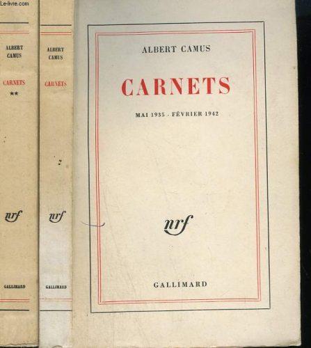 Albert Camus: Carnets