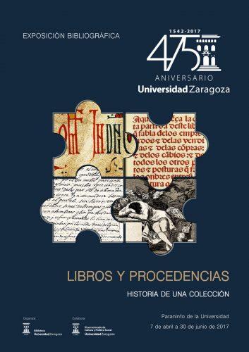 """Exposición """"Libros y Procedencias: historia de una colección"""", en el Paraninfo de la Universidad de Zaragoza"""