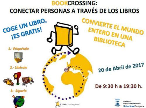Libros libres en BOOKCROSSING Hypatia: liberación de libros en el Edificio Betancourt #EINA