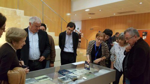 """Exposición bibliográfica """"Universidad de Zaragoza: historia y patrimonio"""", en la Biblioteca María Moliner"""