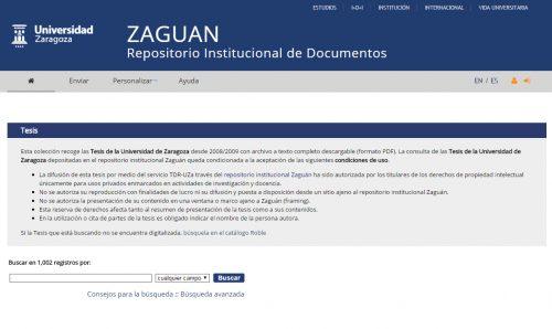1.000 Tesis Doctorales en el Repositorio de la Universidad de Zaragoza